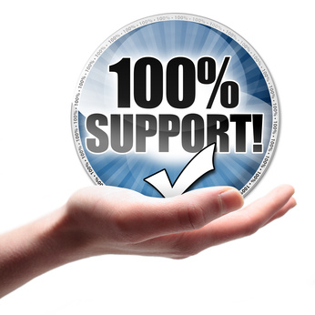 100 Prozent Support