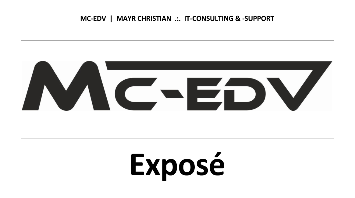 MC EDV Expose